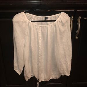 Talbot linen blouse